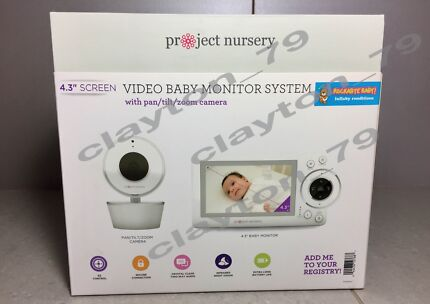 Christmas Special RRP $299 Project Nursery Baby Monitor