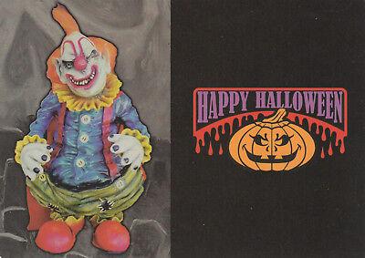 HALLOWEEN : Happy Halloween , Clown , 80-90s
