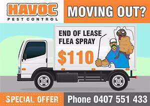 End of Lease Flea Spray $110 - moving out? Singleton Singleton Area Preview