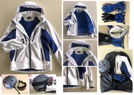 Men's Ski Gear Kit, inc jacket, gloves, helmet and goggles