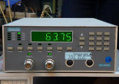 Good Aeroflex Weinschel Programmable Attenuator Unit 8310-136-f Smartstep Ex-s