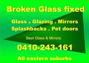 GLASS REPLACEMENT & GLAZING ...  All Eastern Suburbs Clayton Monash Area Preview