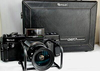 Fuji Panorama G617 Pro shutter count 380 shots
