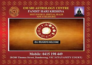 OM SRI ASTROLOGY CENTRE,  ASTROLOGER DANDENONG MELBOURNE VICTORIA Dandenong Greater Dandenong Preview