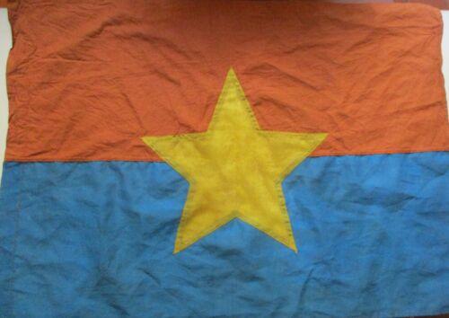 FLAG _ 1 VC Vietcong Flag,  RED FLAG W YELLOW ,NVA FLAG  VIET CONG,