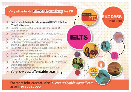 PTE / IELTS Tutoring Service