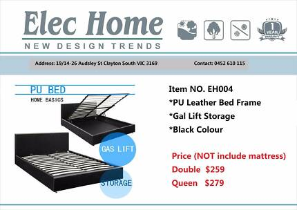 Brand New Gas Lift Storage Beds from $259 to $319