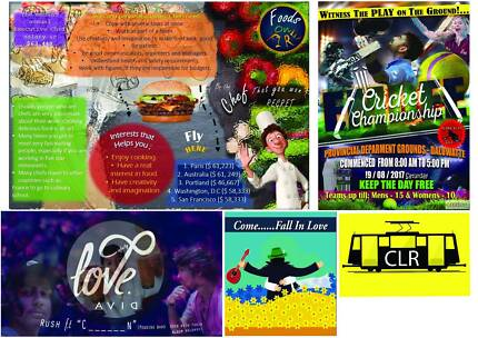 Graphic designer - Get your designs  created for the best price