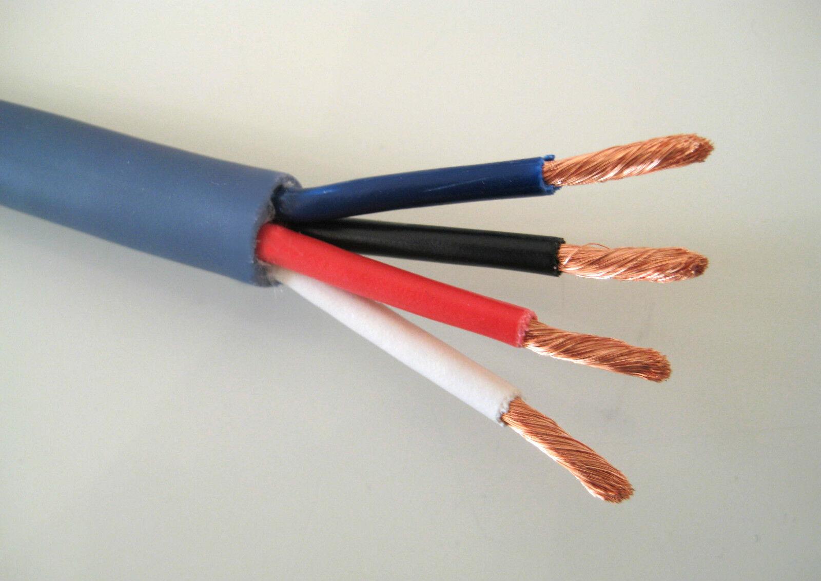 25m rolle lautsprecher kabel boxen kabel 4adrig 4x 2 5 qmm graublau eur 32 00 picclick de. Black Bedroom Furniture Sets. Home Design Ideas