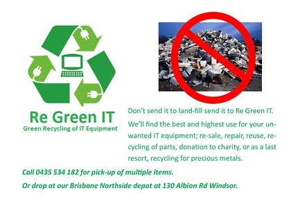 FREE Recycling of IT Equipment