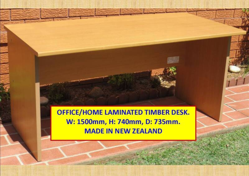 Laminated Timber Office Student Desk Desks Gumtree Australia Blacktown Area Seven Hills 1186587850