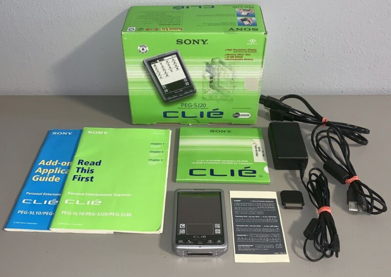 Sony Clie Personal Entertainment Organizer PEG-SJ20 *TESTED*