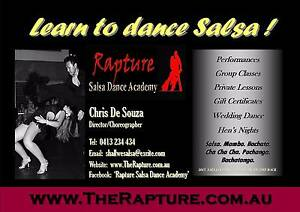 LEARN TO DANCE SALSA IN 2017! Taking bookings now! Perth Perth City Area Preview