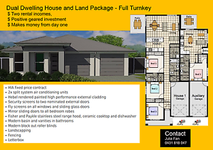 Off the plan - Dual Dwelling House & Land package Loganlea Logan Area Preview