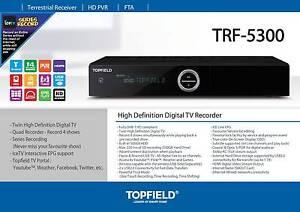 Topfield 5300 500gb quad record pvr dvr digital video recorder Parramatta Parramatta Area Preview