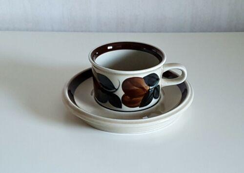 1 Set  / RUIJA Espresso  Cup + Saucer  ARABIA OF FINLAND
