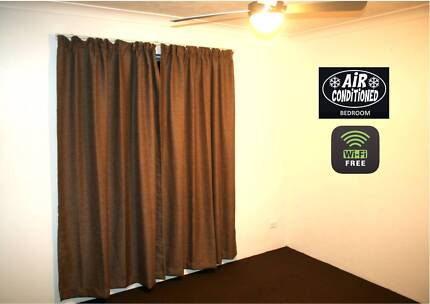 SPACIOUS 1 BEDROOM UNIT + AIR CON + Free unlimited WIFI