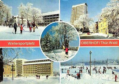 Oberhof / Thüringen, Wintersportplatz, 1990 an den Burda-Verlag versandt