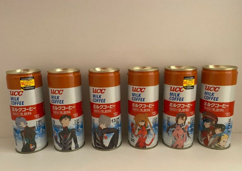 Evangelion Collectible UCC Coffee Rei