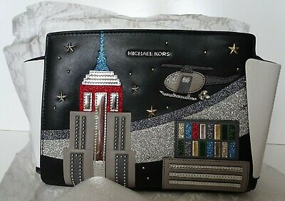 Michael Kors Limited Edition Selma New York City Messenger Crossbody Bag NWT