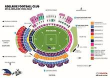4 Reserved Seat Tickets Adelaide Crows v Essendon Bombers AFL Adelaide CBD Adelaide City Preview