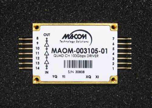 Macom MAOM quad ch 100Gbps driver