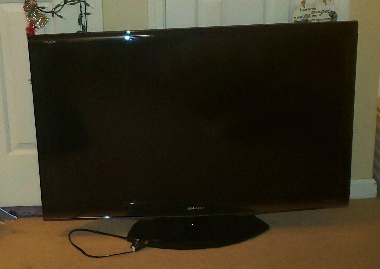 """Sharp 46"""" AQUOSTV, LC-C4677UN, 1080P, LCD HD,Black,"""