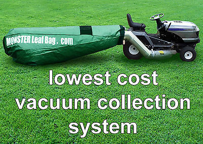 Monster Leaf Bag ADAPTER KIT, If Craftsman Lawn Tractor is Without Grass Catcher