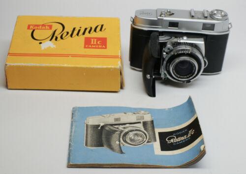 Kodak Retina IIc Camera with Box and Instructions Near Mint, Xenon 1.28