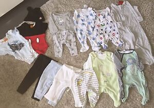 Like new boys baby clothes and shoes so beautiful bulk lot Coomera Gold Coast North Preview