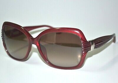 Scratched Parts/Repair Ferragamo 649s Red Fashion Womens Sunglasses (Repair Scratched Sunglasses)