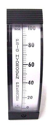 Westinghouse 0-100 Psig Hydrogen Pressure Vertical Meter Gauge 5x1-34x6