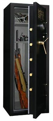 Mesa Safe All Steel 7.6 Cu Ft Capacity 14 Gun Burglary and Fire Safe Electronic