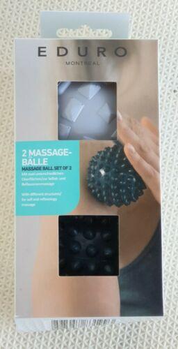 EDURO Doppelpack Massage-Bälle Neu