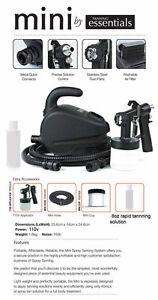 Tanning Essentials Mini Spray Tan HVLP Airbrush Machine + FREE Tan