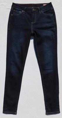 JAG Jeans Dark Blue Stretch Denim SHERIDAN Mid Rise Skinny Jeans size 2 4 EUC