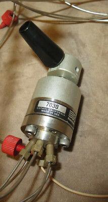 Rheodyne 7030 6 Port High Pressure Injector Valve