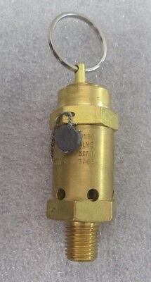 Air Cap Manual Brass 5100 Series Inline Relief Valve M5159n-2ml