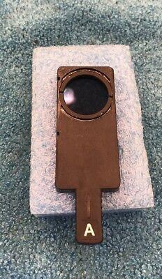 Nikon Microscope Pol Polarizer Analyzer Slider For Epi-illuminator