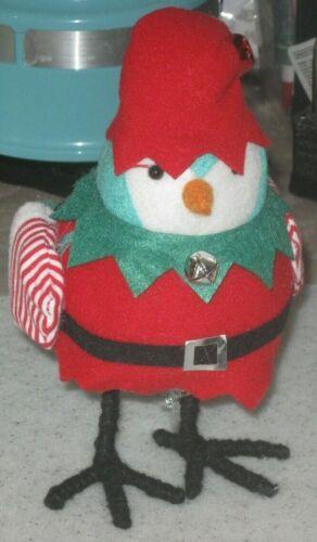 2019 Target Christmas Featherly Friends Bird - Holly as Elf - Wondershop
