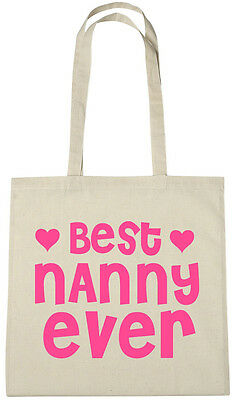 Best Nanny Ever Bag, gift ideas christmas birthday gifts presents from grandkids Birthday Gift Bag Ideas