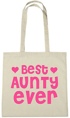 Best Aunty Ever Bag Gift ideas xmas christmas birthday gifts presents for auntie Birthday Gift Bag Ideas