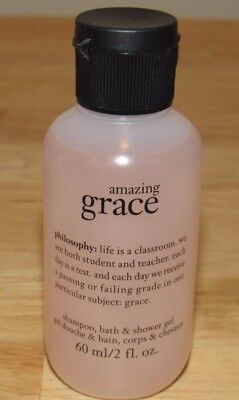 Philosophy Amazing Grace Shampoo Bath & Shower Gel 2 Oz Travel Size