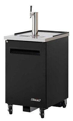 Turbo Air Direct Draw 1 Keg Beer Cooler Dispenser Black Tbd-1sb