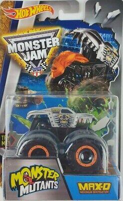 Hot Wheels Monster Jam MAX-D  Monster Mutants NEW pop up pickup truck
