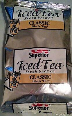 3 pack Superio Iced Tea Fresh Brewed Black Loose Leaf 4oz 1/4 lb Superior (Black Tea Sweet Coffee)
