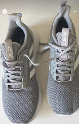 Adidas Questar Drive Cloudfoam Grey White Trainers Uk Size 7