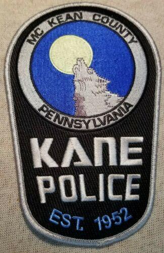 PA Kane Pennsylvania Police Patch