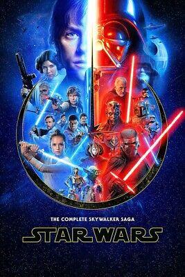 "Star Wars Saga ( 11"" x 16.5"" ) Movie Collector's Poster Print -  )  B2G1F"