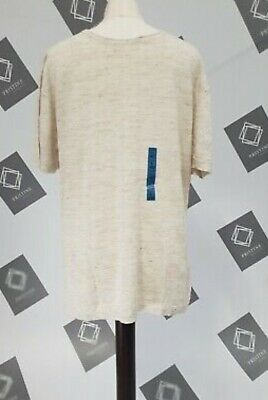 Pull&Bear Join Life Knitted T Shirt Grey Marl Large